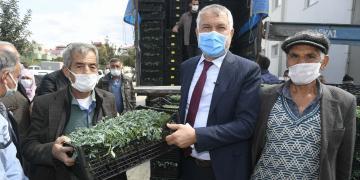 BÜYÜKŞEHİR'DEN 2 YILDA TARIMSAL KALKINMAYA DEV DESTEK