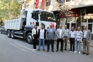 POZANTI BELEDİYESİ'NE HİBE DAMPERLİ KAMYON